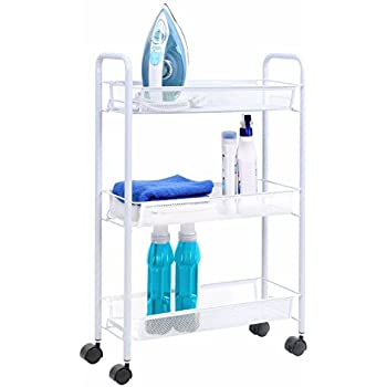 Amazon Com Whirlpool 1903wh Laundry Supply Storage Cart