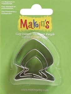 Makin's Clay Cutters 3/Pkg-Fish