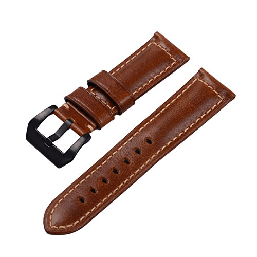 EACHE18mm-20mm-22mm-24mm-Genuine-Leather-Watch-Band-Replacement-Wrist-Straps