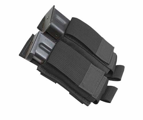 UPC 643720103363, Tactical Assault Gear MOLLE Pistol Mag 2 Pouch, Black MPM2-BK