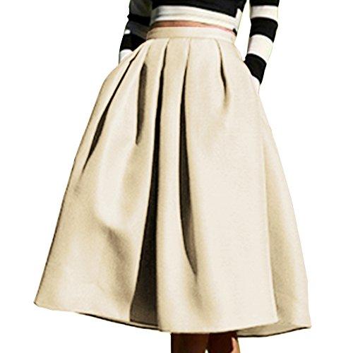 Knee Length Full Skirt - 7