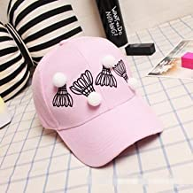 W&P Korean version of the new spring and summer sweet gusto solid badminton bend outdoor shade visor Baseball Cap