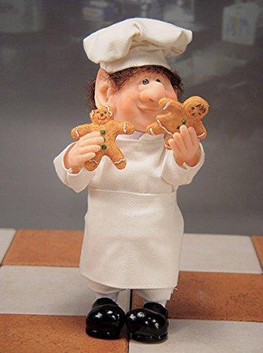 (Whitehurst Zims Alexander the Baker Elf with Gingerbread Men Cookies Christmas Figurine)