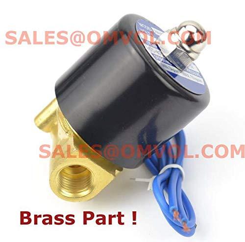 - BIN BON - BRASS PART Copper Wire Electric Solenoid Valve Water Air N/C 1/4