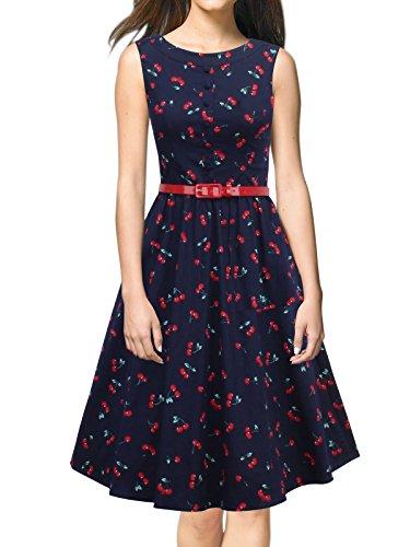 cherry retro dress - 7