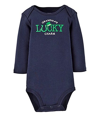 (Carter's Grandma's Lucky Charm ST Patrick's Day Long Sleeve Bodysuit (6 Months))