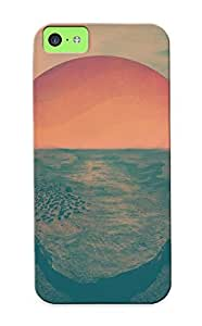 Inthebeauty Ultra Slim Fit Hard Case Cover Specially Made For Iphone 5c- Sunset