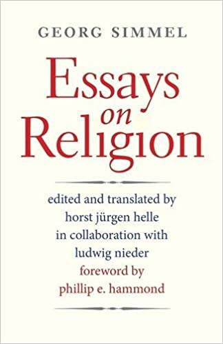 essays on religion society for the scientific study of religion  essays on religion society for the scientific study of religion monograph serie georg simmel horst jurgen helle 9780300205077 com books