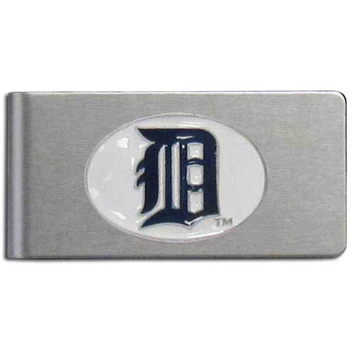 - MLB Detroit Tigers Brushed Money Clip