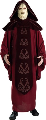 [Rubie's Costume Men's Star Wars Supreme Edition Adult Emperor Palpatine and Mask, Multicolor,] (Star Wars Emperor Palpatine Costume)