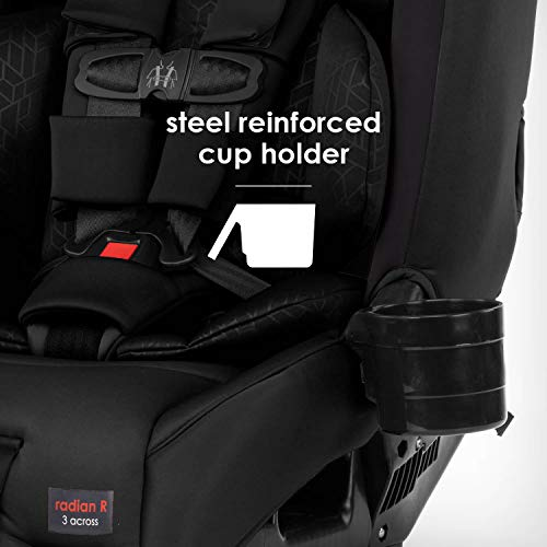 413wBo6EOhL - Diono Radian 3RXT, 4-in-1 Convertible Extended Rear And Forward Facing Convertible Car Seat, Steel Core, 10 Years 1 Car Seat, Ultimate Safety And Protection, Slim Design - Fits 3 Across, Jet Black