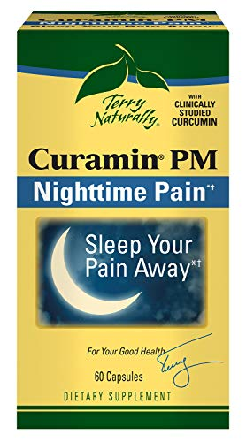 Terry Naturally Curamin PM Pain Relief 60 Capsules