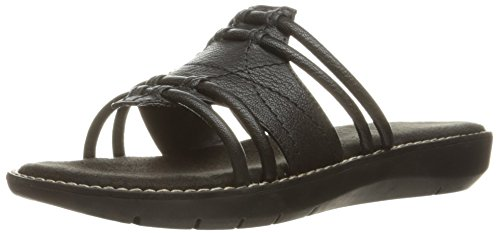 Aerosoles Women Super Cool Slide Sandal Black