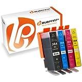 4 Druckerpatronen kompatibel für HP 364 XL 364XL inkl. Chip mit Füllstandsanzeige