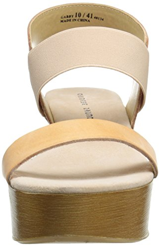 Women Laundry Leather Sandal Hazelnut Gabby Chinese Wedge O5gnRHPqq