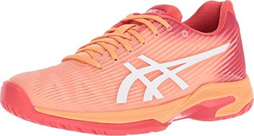 ASICS Solution Speed FF Womens Tennis Shoe (Mojave/White) (10)