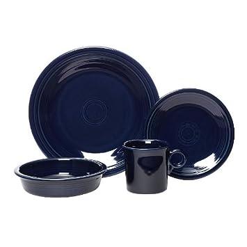 Fiesta 16-Piece Service for 4 Dinnerware Set Cobalt  sc 1 st  Amazon.com & Amazon.com   Fiesta 16-Piece Service for 4 Dinnerware Set Cobalt ...
