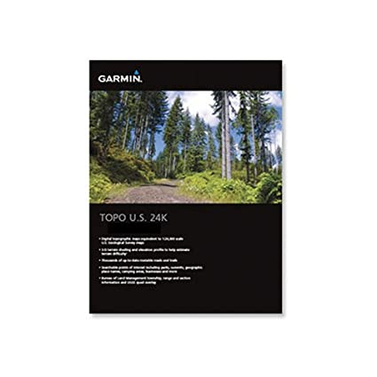 Amazon.com: Garmin US TOPO 24K Topographical Maps of United States ...