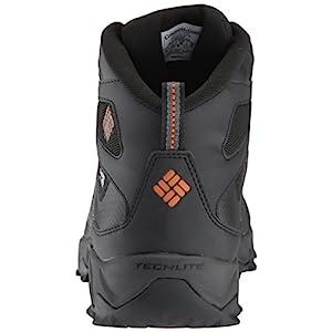 Columbia Men's Peakfreak XCRSN Xcel Mid Outdry 200 XT Hiking Boot, Black, Bright Copper, 9 D US