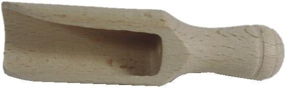 Liamostee 3 St/ück Holz Kleine Schaufel Salz Zucker Kaffeel/öffel Mini K/üche Kochwerkzeug