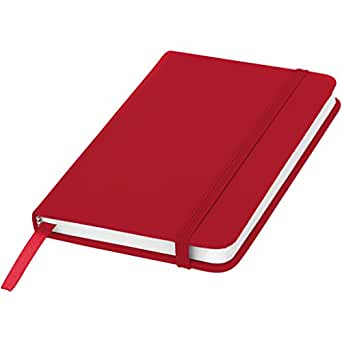 Bullet Spectrum A6 Notebook (UK Size: 14 x 9 x 1.2 cm) (Red)