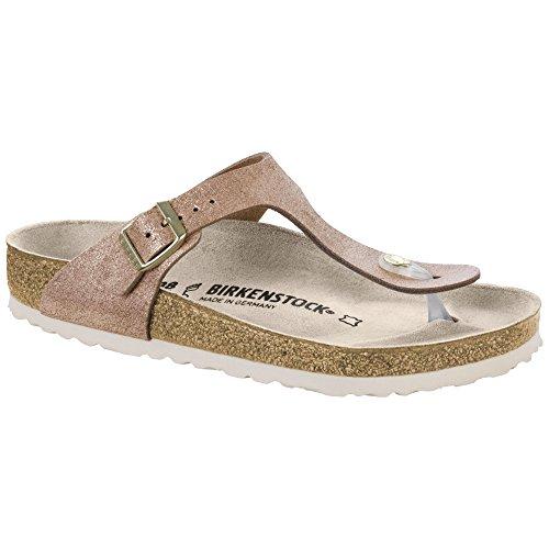 (Birkenstock Women's, Gizeh Sandals R Fit Rose 3.9 M)