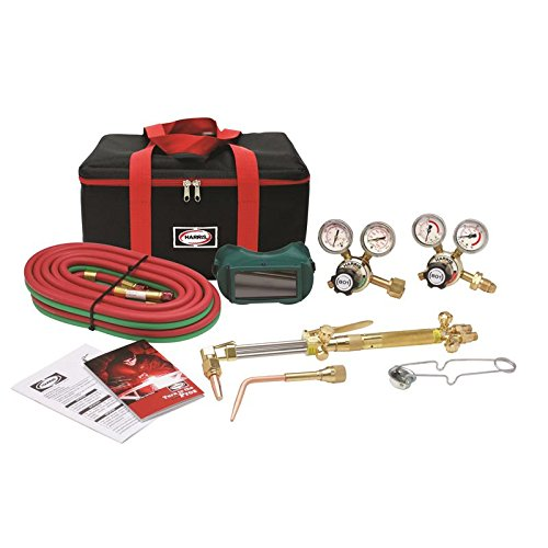 (Harris Ironworker 510 DLX Oxygen Acetylene Torch Kit 4400366)