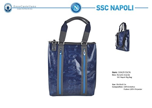 BORSA DONNA SHOPPING GRANDE SSC NAPOLI BY ENZO CASTELLANO 10429