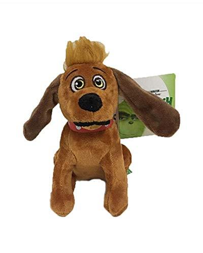 TOBABYFAT Christmas Doll How The Grinch Stole Stuffed Plush Toy Xmas Kids Gifts (Dog)