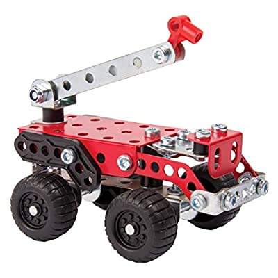 Meccano, 3 Model Building Set, Insects, 72 Pieces, For Ages 8+, STEM Construction Education Toy: Toys & Games