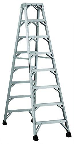 Louisville Ladder L-2431-08MR 8-Feet Twin Front Aluminum Ladder