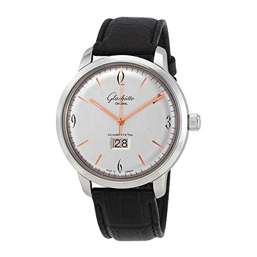 Glashutte Senator Silver Dial Automatic Men's Watch 39-47-01-02-04