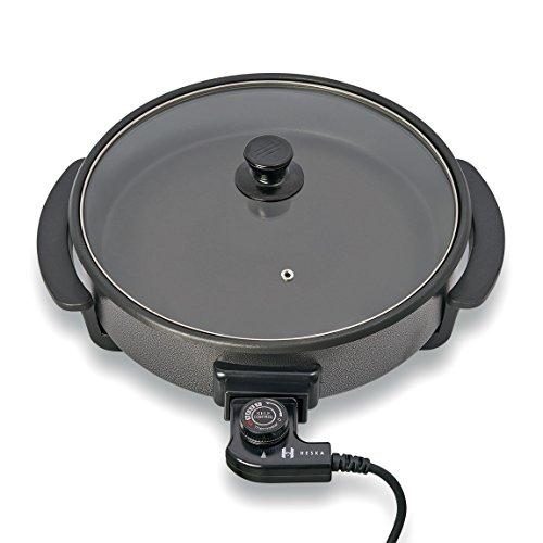 Heska - Round Cooking Electric Pan - Frying Pan - Multifunctional Skillet -...