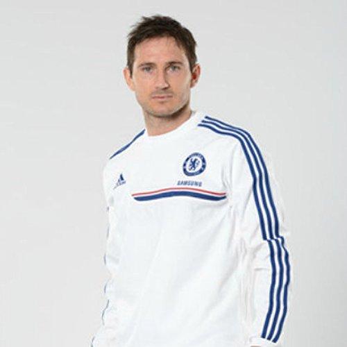 2013-14 Chelsea Adidas Sweat Top (White) White
