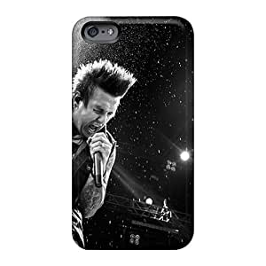Scratch Resistant Hard Cell-phone Cases For Iphone 6 With Provide Private Custom Colorful Papa Roach Pattern MansourMurray