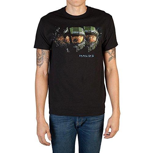 Halo 5 Masterchief Helmet T-Shirt-L (Halo T Shirt Small)