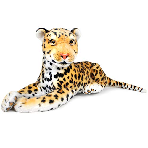 VIAHART Leah The Leopard | 17 Inch (Not Including Tail Length!) Stuffed Animal Plush | by Tiger Tale Toys ()
