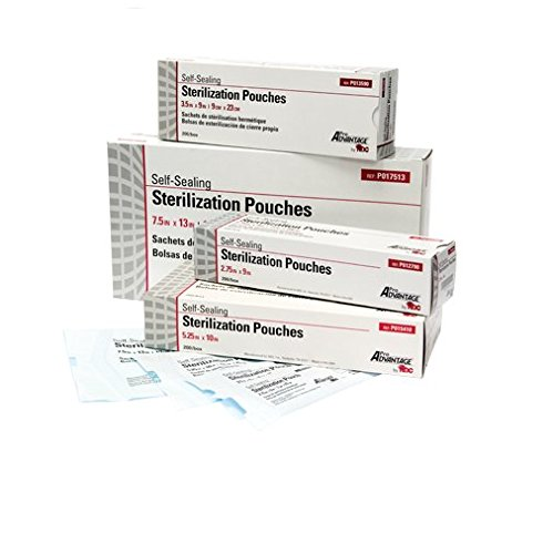 Pro Advantage P017513 Pouch, 7 1/2'' x 13'' (Pack of 1000)