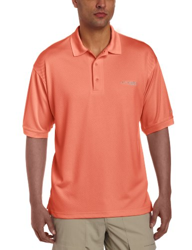 Columbia Men's PFG Perfect Cast Polo Shirt, Breathable, UV Protection ()