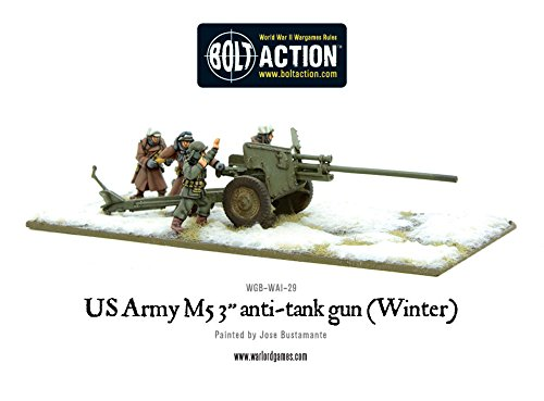 買取 warlord games us army 3 inch anti tank gun m5 winter bolt