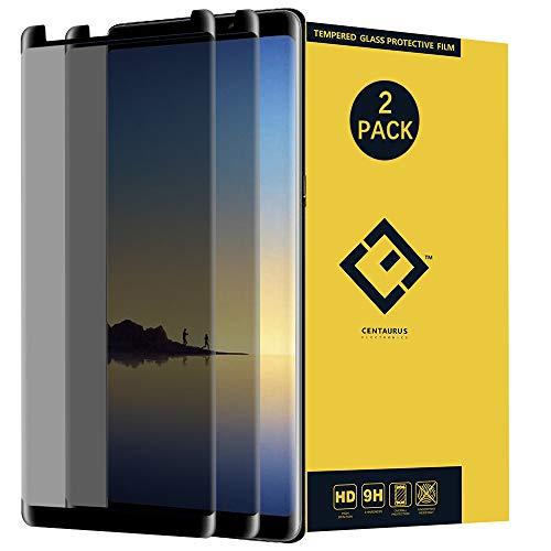 Samsung Galaxy Note 8 Privacy Glass Screen Protector,(2 Pack) Anti-Spy Anti-Glare Ultra-Thin Clear 9H Tempered Glass Protective Film for Samsung Galaxy Note8 N950 N950U N950W N950FD N950F N9500 N9508
