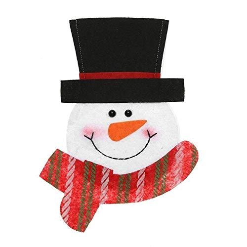 Procyon - Elk Santa Snowman Living Room Table Desktop Ornament Foam Craft Christmas Decoration for Home Christmas Gift Party Supplies ()