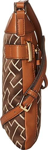 Ecru Chocolate Dark South North Hilfiger Womens Tommy Crossbody Claudia p1ZFq