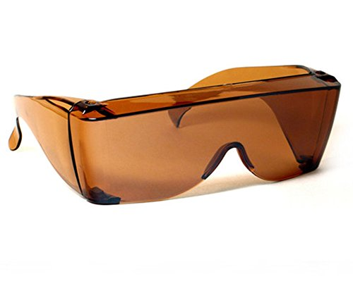 Sun Shield Sunglasses Driving Lens Copper Fits Over Prescription Glasses by - Ccs Sunglasses