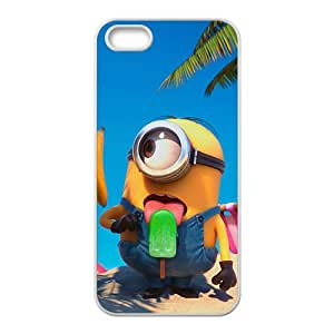 Cute naughty horarios de minions Cell Phone Case for iPhone 5S