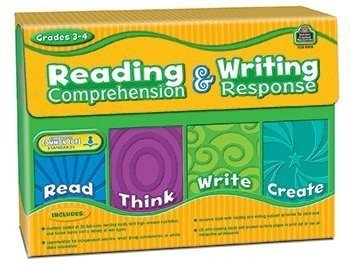 Teacher Created Resources TCR9015 Gr 3-4 Reading Comprehension and Writing Response by Teacher Created Resources by Teacher Created Resources