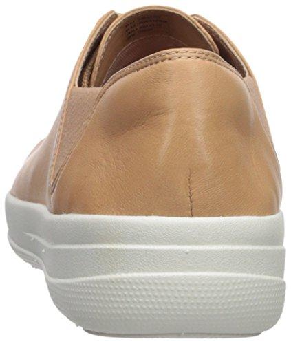 Softtennisschuhe FitFlop Sporty Naturell F up TM Lace Sneaker Damen 4ZZw0