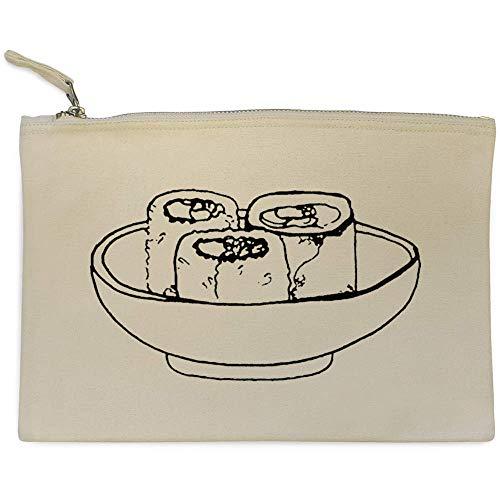 'rollos Sushi' Case Embrague Bolso cl00007386 Accesorios Azeeda De gf8wxdqx1