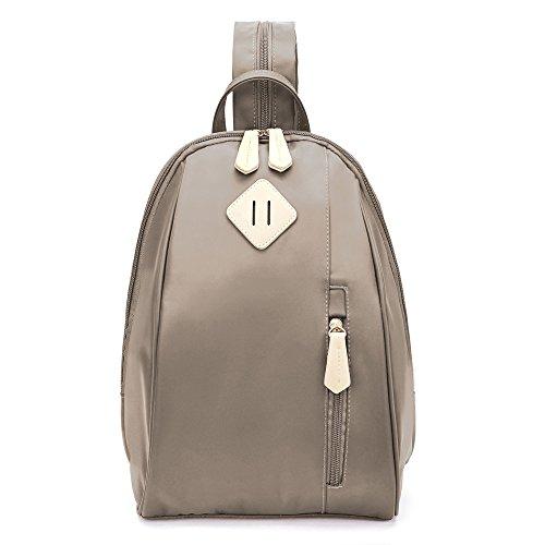 ecosusi women daypack outdoor sling chest bag small nylon