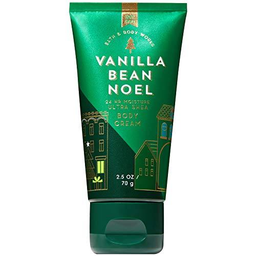 Bath and Body Works VANILLA BEAN NOEL Travel Size Body Cream 2.5 ()